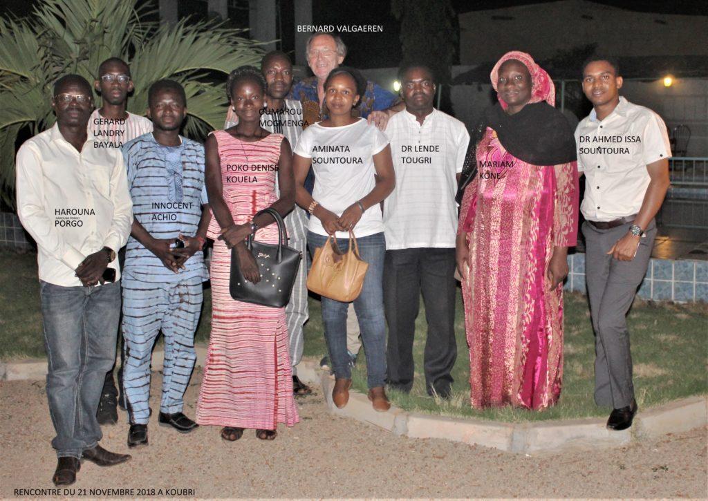 Responsables Burkina