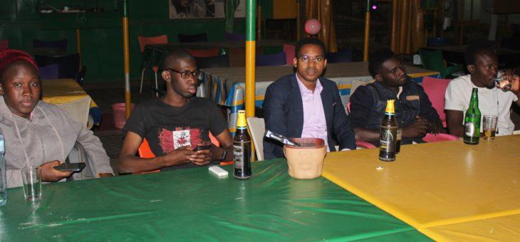 Toujours la réunion des étudiants de Ouagadougou.