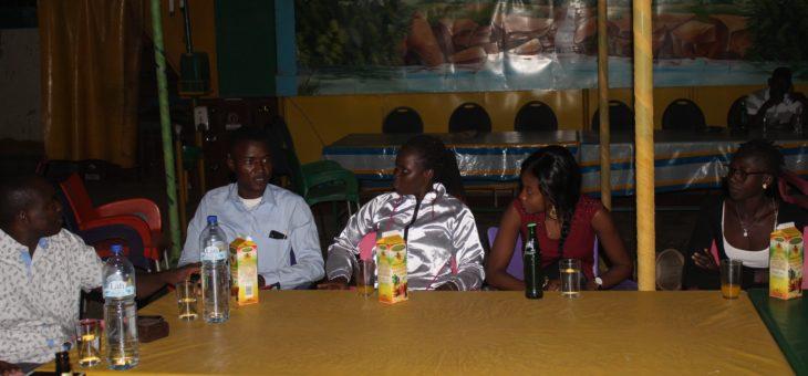 Réunion des étudiants de Ouagadougou.